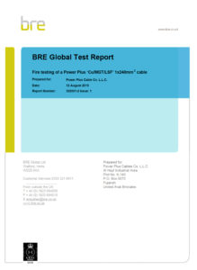 Type Test Certificate - Fire Resistant Cable-2